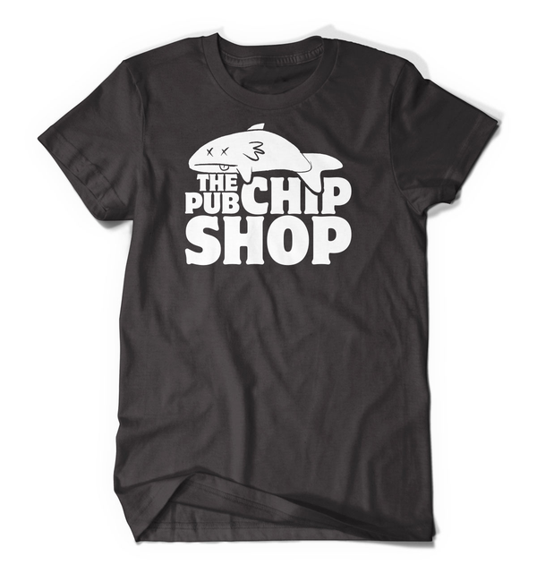 Pub Chip Shop Dead Fish Tee