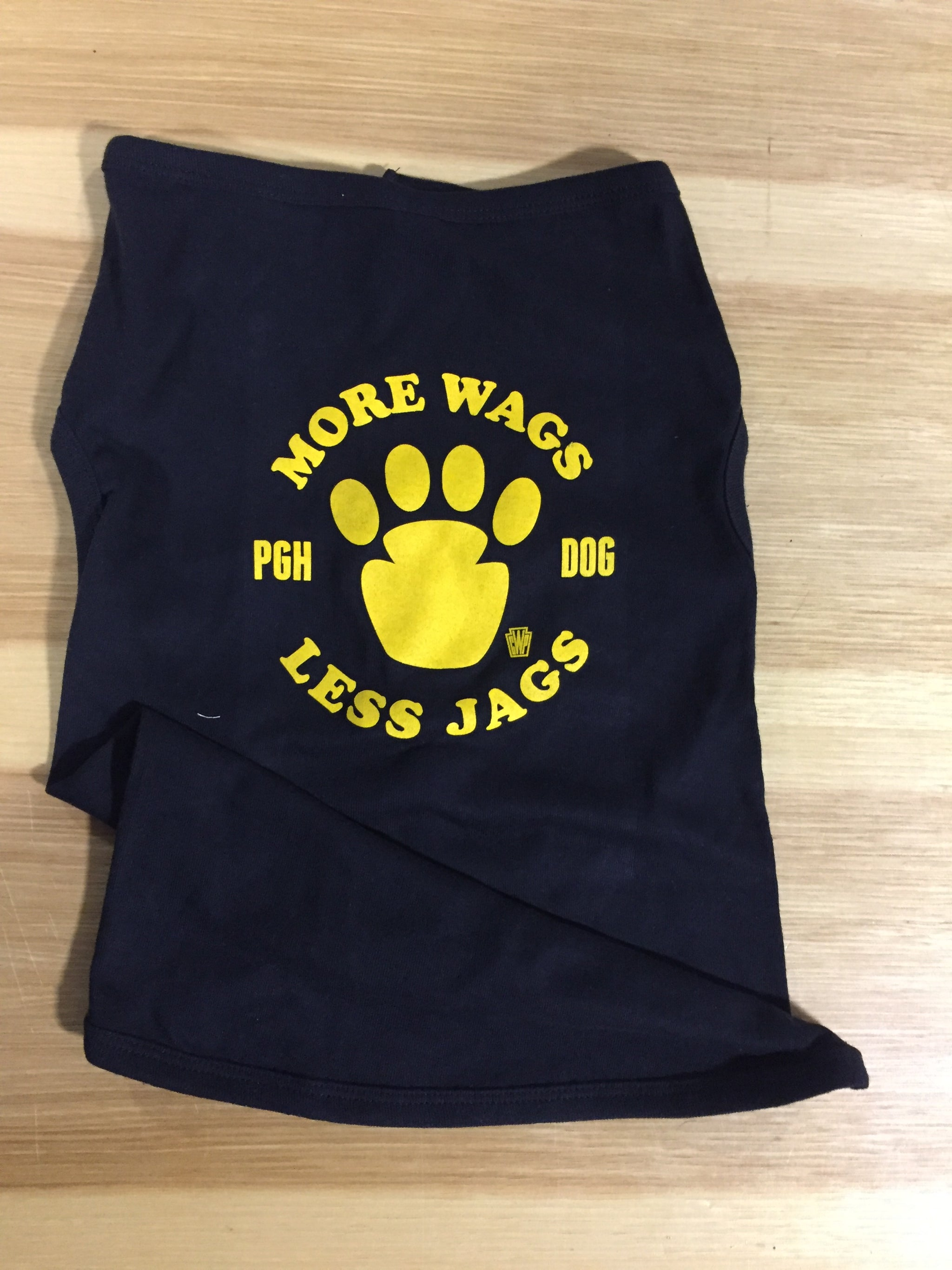 More Wags Less Jags Dog Shirts