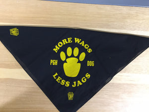 More Wags Less Jags - Dog Bandana