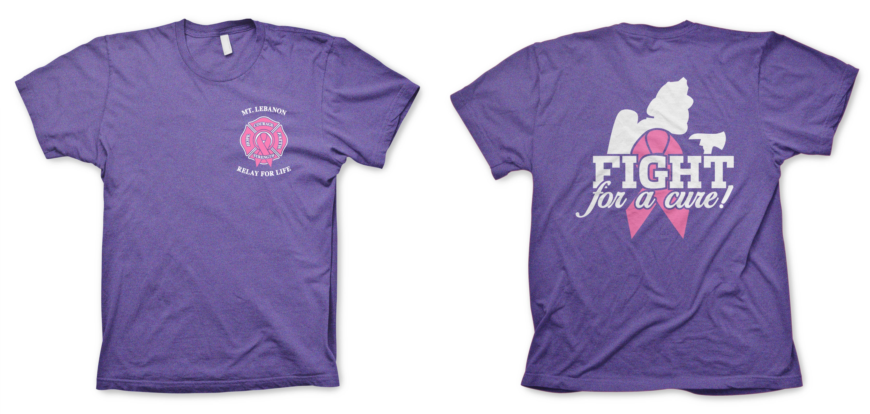 Mt Lebanon Fire Relay For Life Tshirt Cwpress