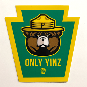 Only Yinz Sticker