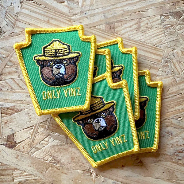 ONLY YINZ keystone patch