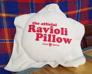 The Official Ravioli Pillow