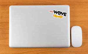 WDVE Rocks Sticker