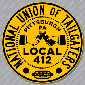 National Union of Tailgaters Sticker