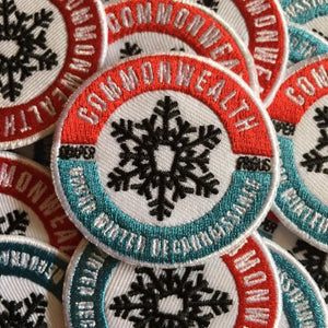 CommonWealth Press Urban Winter Patch
