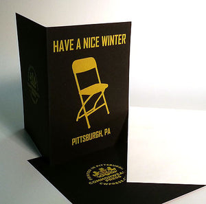 Have A Nice Winter Greeting Card