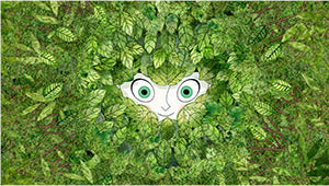 Aisling's eyes appear from within the forest which conceals her. S... click for more information