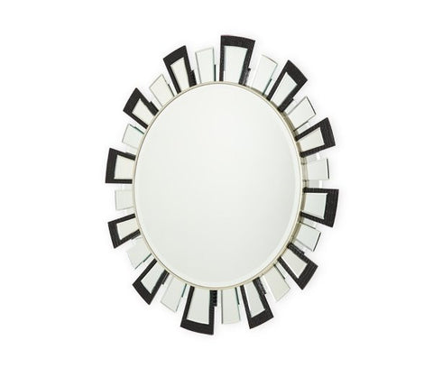 Hollywood Swank Facet Mirror by Aico