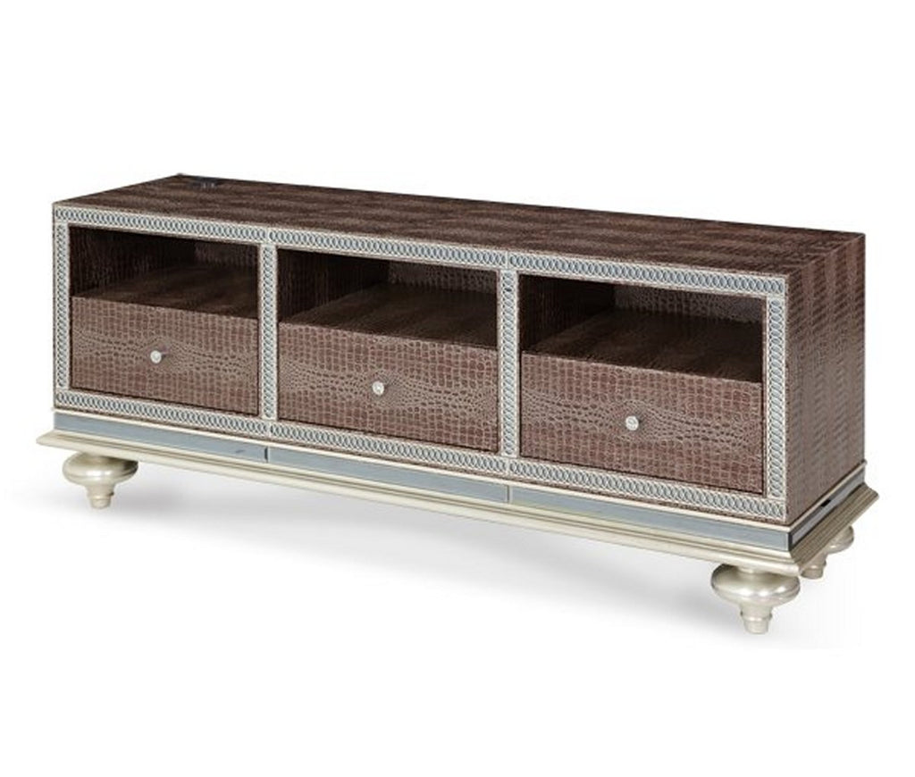 Hollywood Swank Entertainment Console - Amazing Gator by Aico