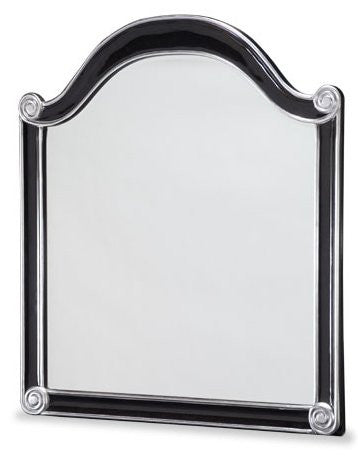 Hollywood Swank Sideboard Mirror - Black by Aico