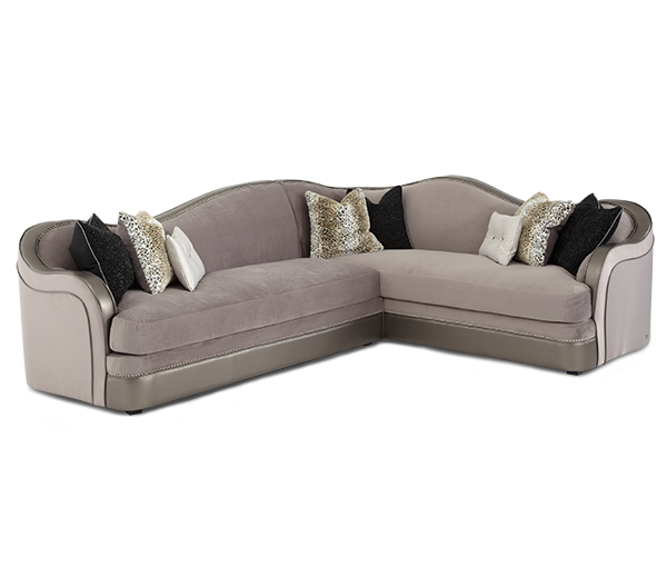 Hollywood Swank Sectional by Aico
