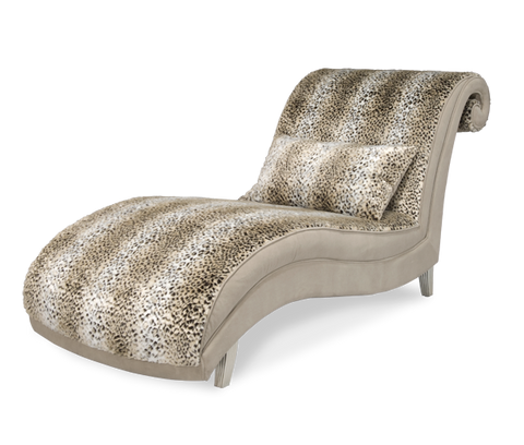 Hollywood Swank Armless Chaise by Aico