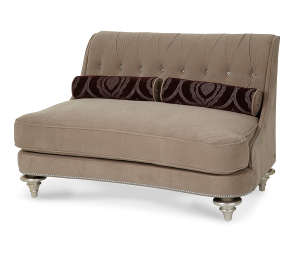 Hollywood Swank Settee by Aico