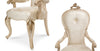 Platine de Royale Arm Chair (Set of 2) - Champagne Finish by Aico