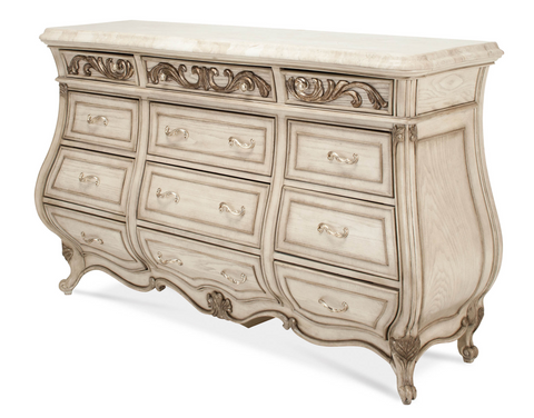 Platine de Royale Dresser- Champagne Finish by Aico