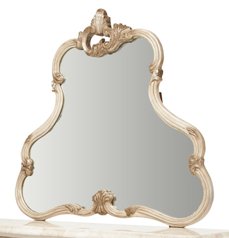 Platine de Royale Dresser Mirror - Champagne Finish by Aico