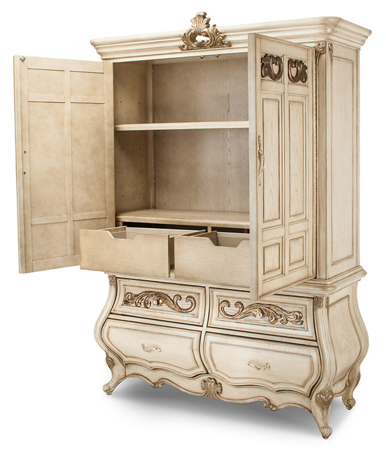 Platine de Royale Door Chest - Champagne Finish by Aico
