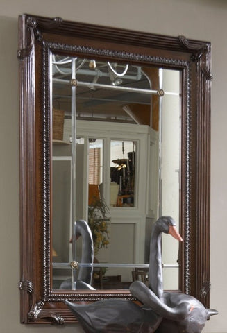 American Cherry Goddard Mirror by Fine Furniture Design