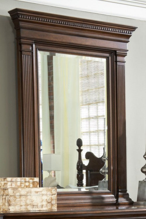 American Cherry Quincy Vertical Mirror by Fine Furniture Design
