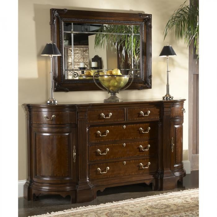 American Cherry Kennett Square Credenza by Fine Furniture Design
