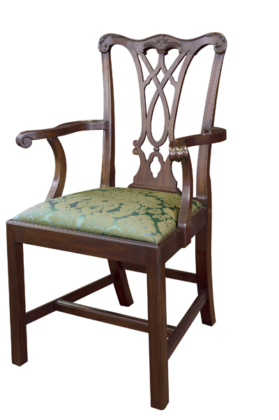Henkel Harris Chippendale Arm Chair