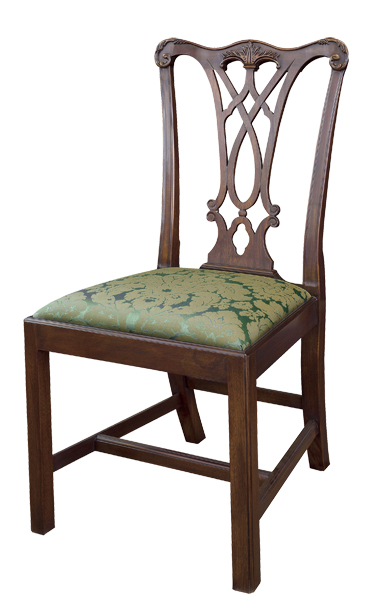 Henkel Harris Chippendale Side Chair