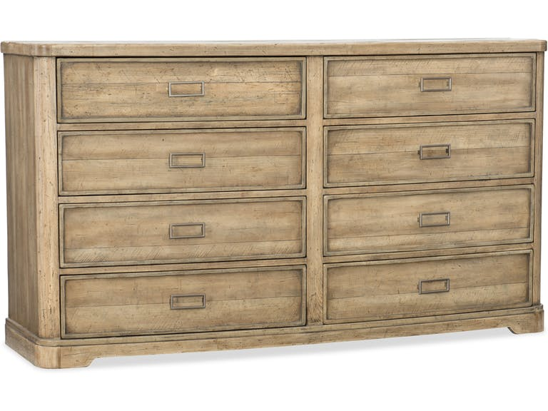 Hooker Urban Elevation Eight-Drawer Dresser