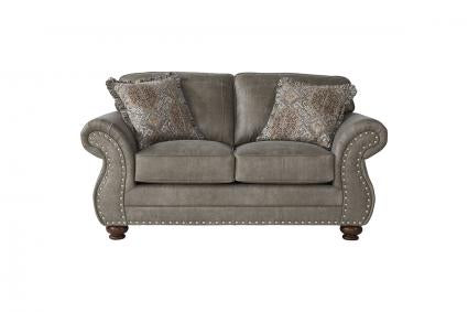 Goliath Mica Transitional Loveseat