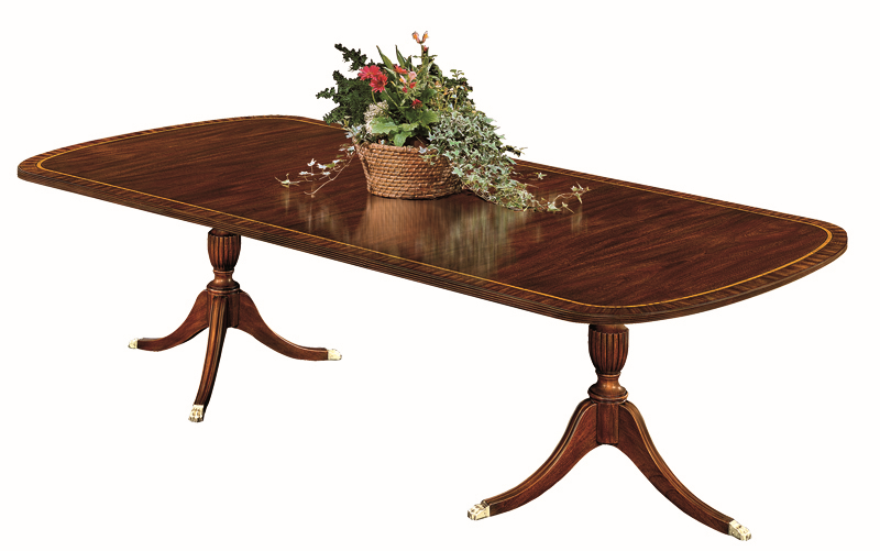 Henkel Harris Double Pedestal Dining Table
