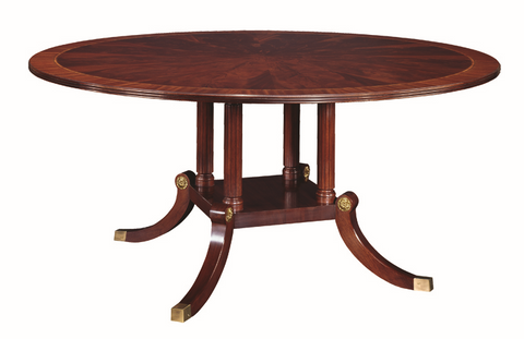 "Henkel Harris 72"" Round Dining Table"