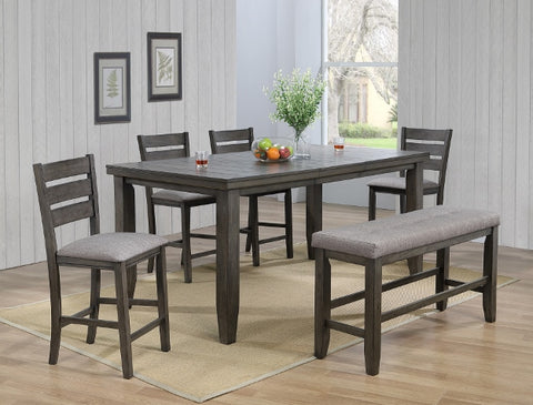 Bardstown 5 Piece Dinette Set - Grey