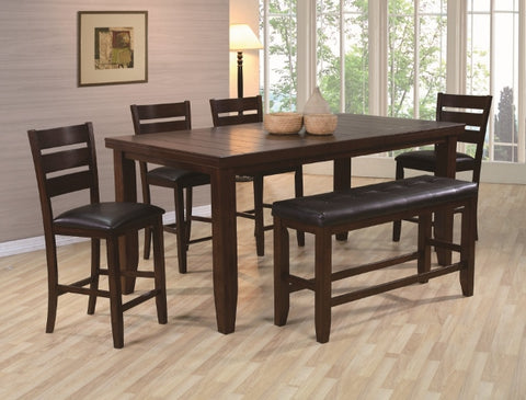 Bardstown 5 Piece Dinette Set - Cappuccino