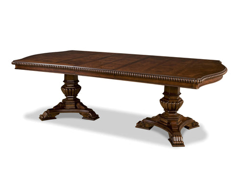Villa Cortina Double Pedestal Table by Universal