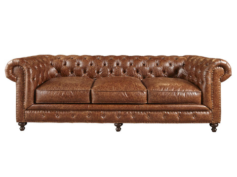 Berkeley Leather Sofa by Universal