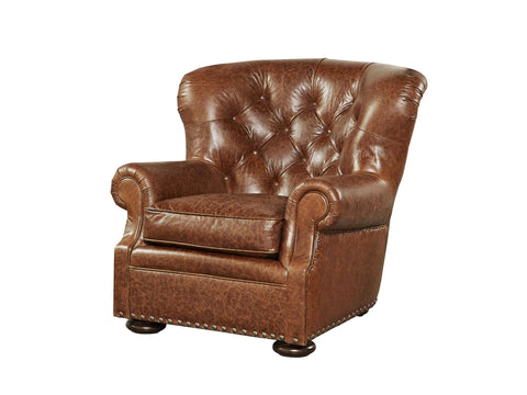 Maxwell Leather Chair by Universal
