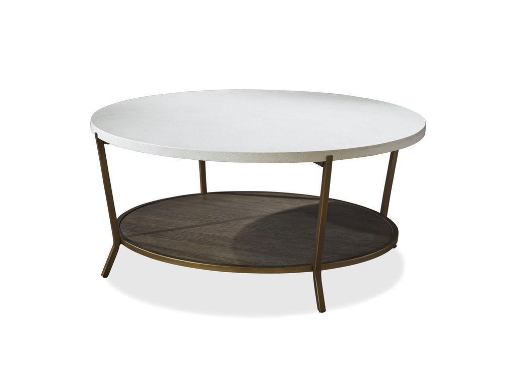 Playlist Round Cocktail Table by Universal