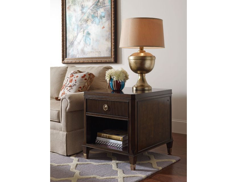 Grantham Hall Drawer End Table by American Drew