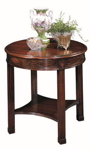 Henkel Harris Round End Table