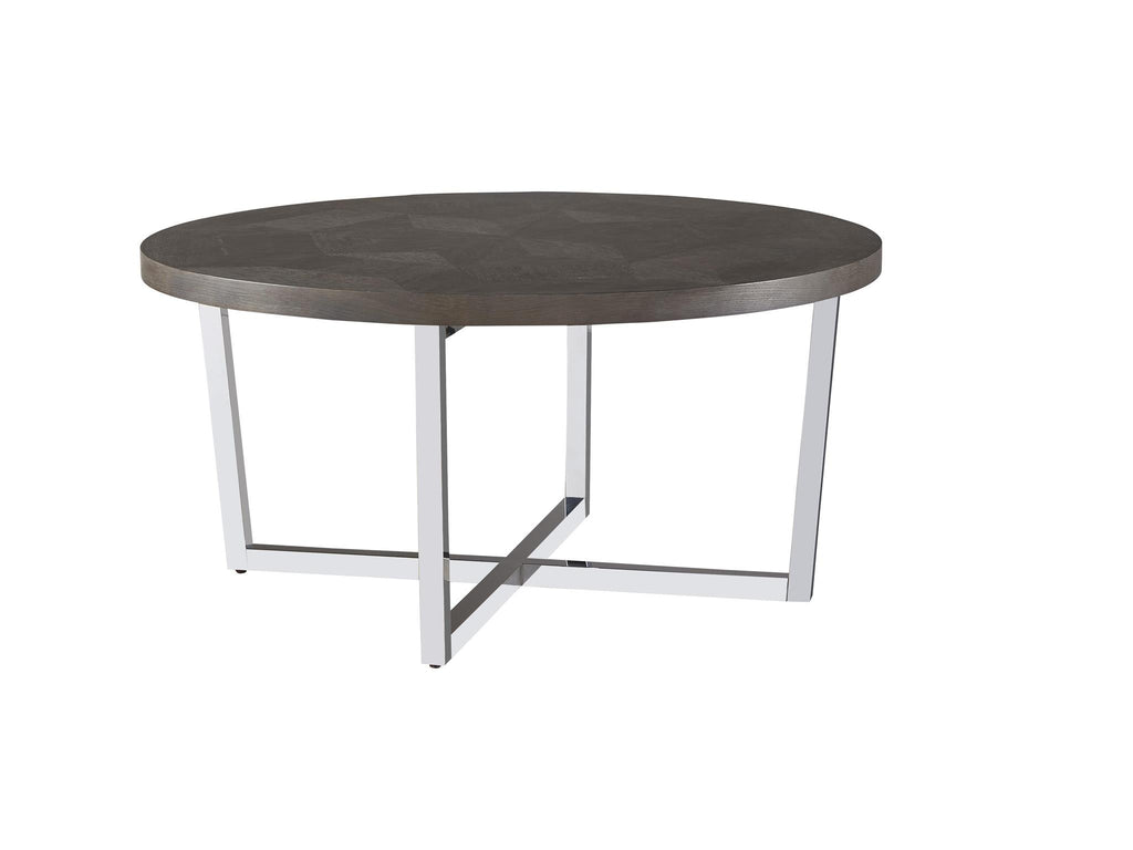 Curated Dorchester Round Cocktail Table by Universal