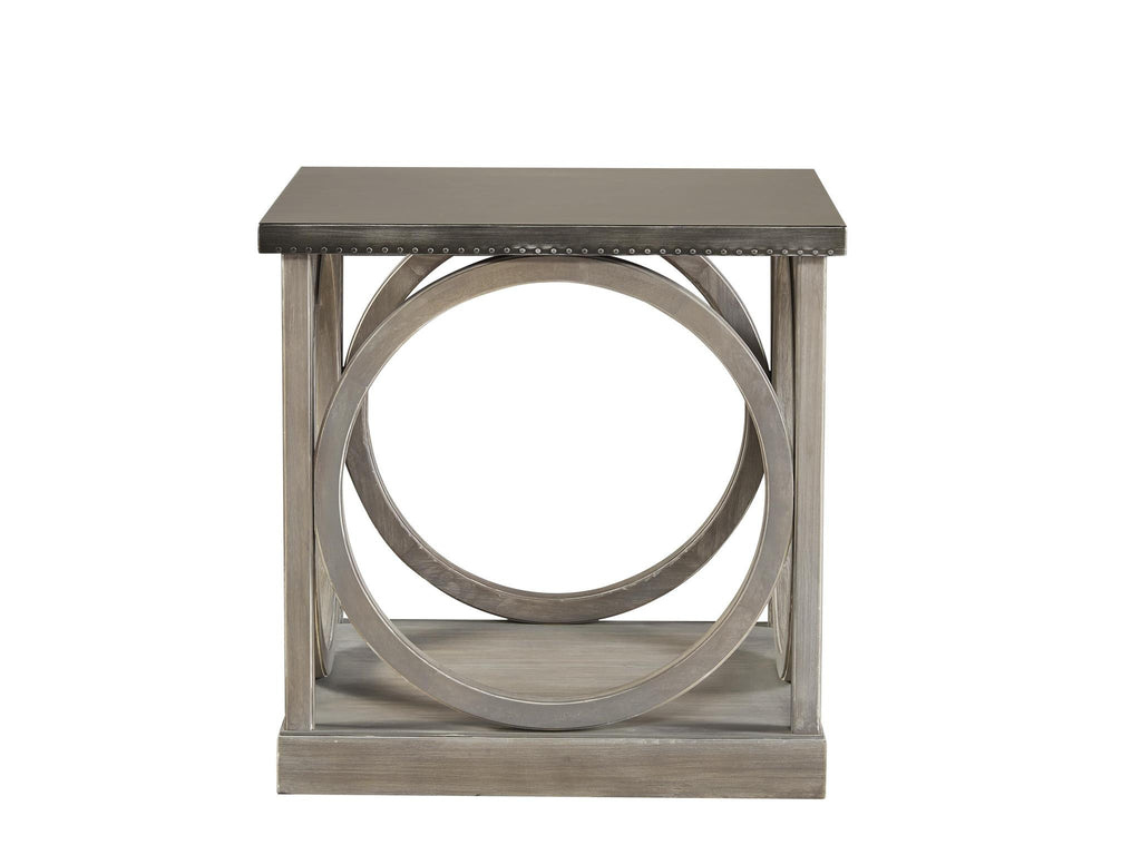 Curated Carlton End Table by Universal
