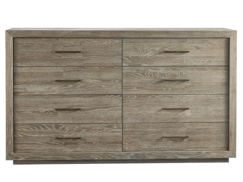 Modern Charcoal Wilshire Dresser by Universal Furniture