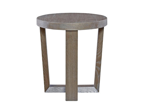 Modern Charcoal Round End Table by Universal Furniture