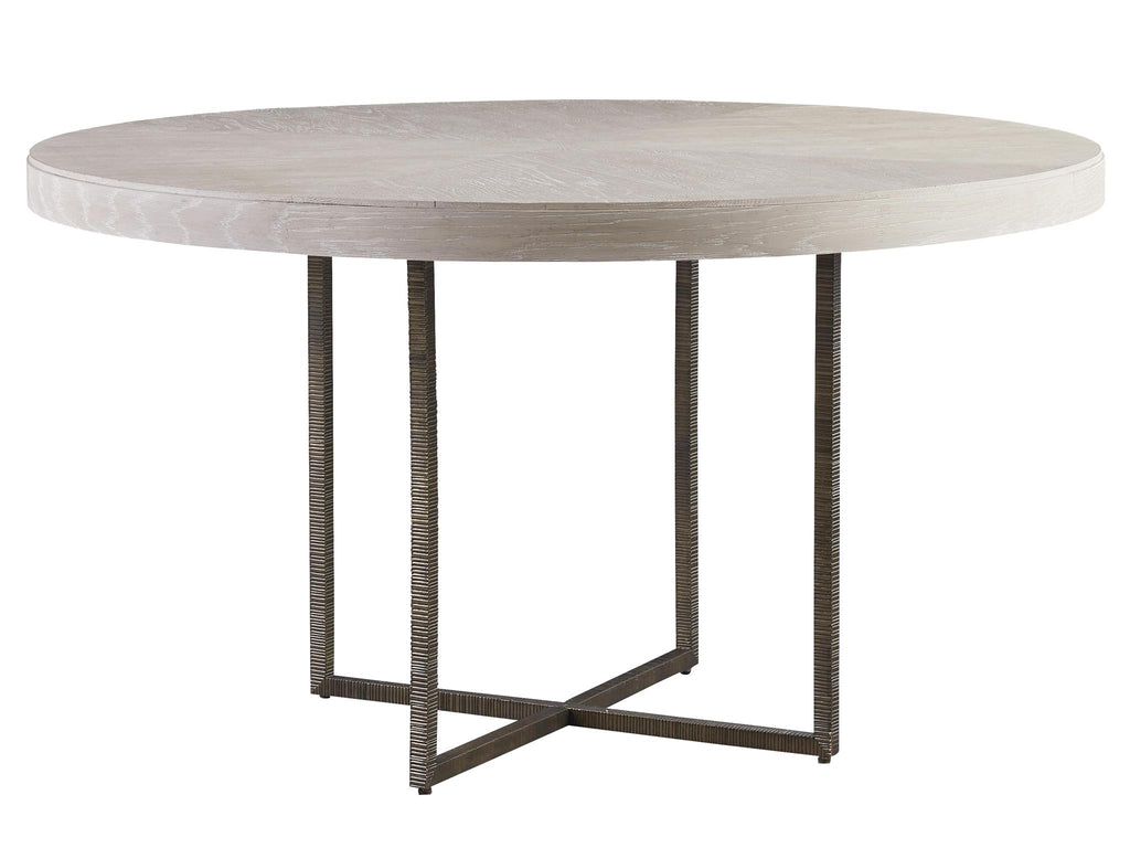 Modern Quartz Robards Round Dining Table by Universal