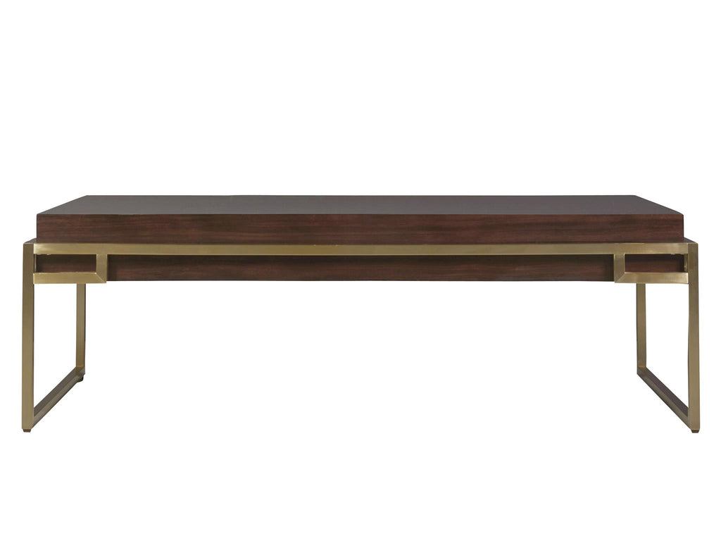 Modern Mahogany Hayworth Cocktail Table by Universal Furniture