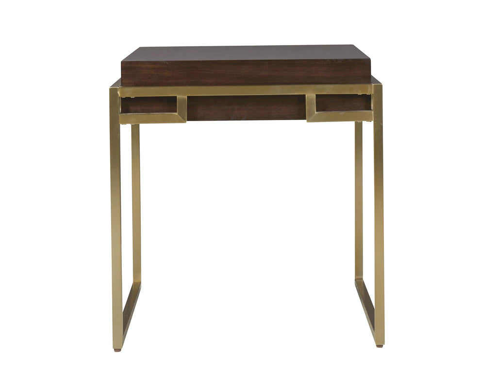 Modern Mahogany Hayworth End Table by Universal Furniture