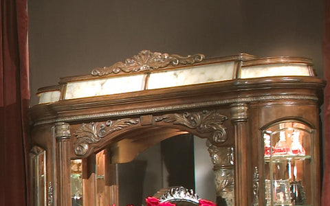 Villa Valencia Lighting Box for Dresser Mirror by Aico
