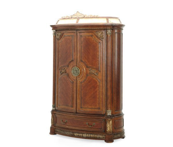 Villa Valencia Illuminated Armoire by Aico