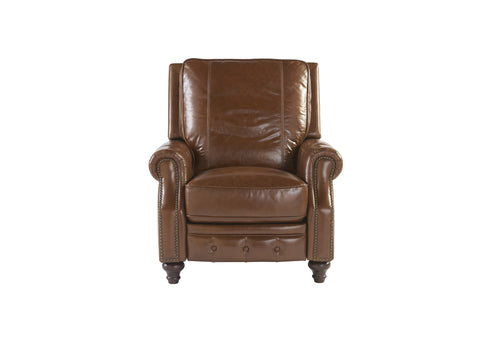 Harrison Power Recliner in Caramel Leather by Universal Furniture