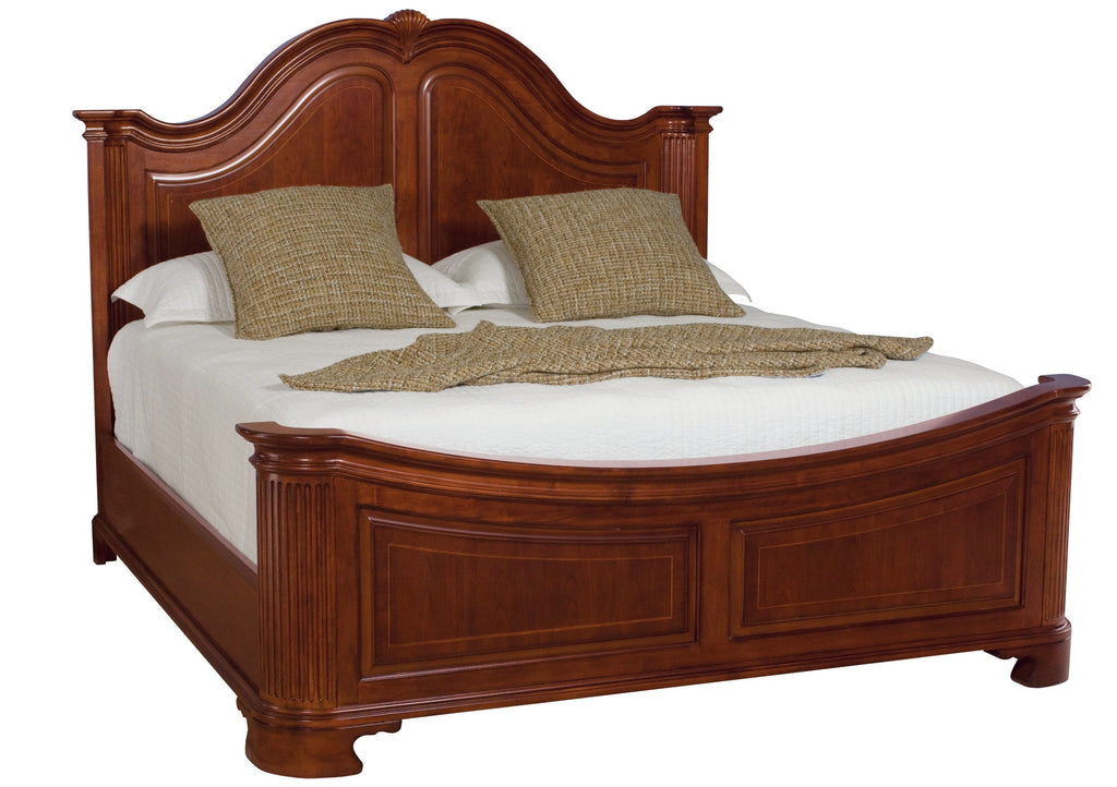 Cherry Grove Queen Mansion Bed by American Drew